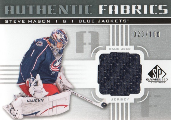 2011-12 SP Game Used Authentic Fabrics #AFSM Steve Mason