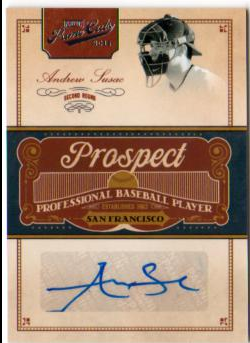 2011 Prime Cuts Prospect Signatures #AS Andrew Susac