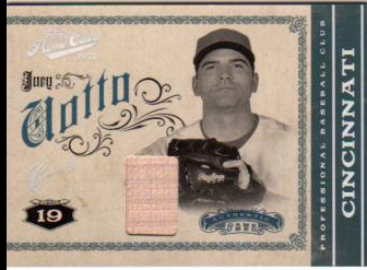 2011 Prime Cuts Materials Century Silver #21 Joey Votto/49