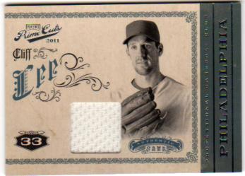 2011 Prime Cuts Materials #9 Cliff Lee/199