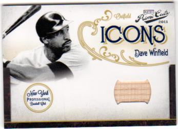 2011 Prime Cuts Icons Bats #9 Dave Winfield/99