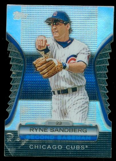 2012 Topps Golden Moments Die Cuts #GMDC56 Ryne Sandberg