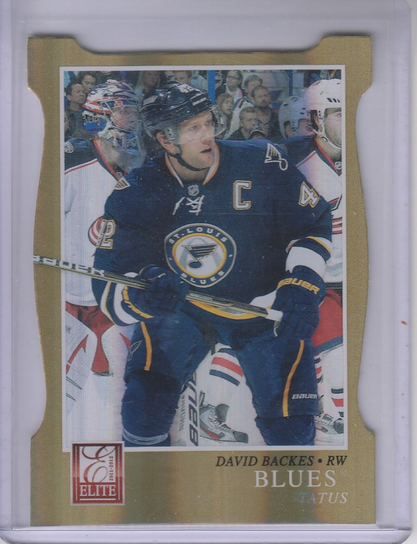 2011-12 Elite Status Gold #22 David Backes