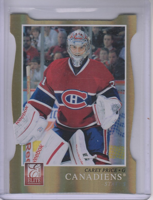 2011-12 Elite Status Gold #51 Carey Price