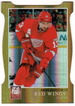 2011-12 Elite Status Gold #77 Pavel Datsyuk