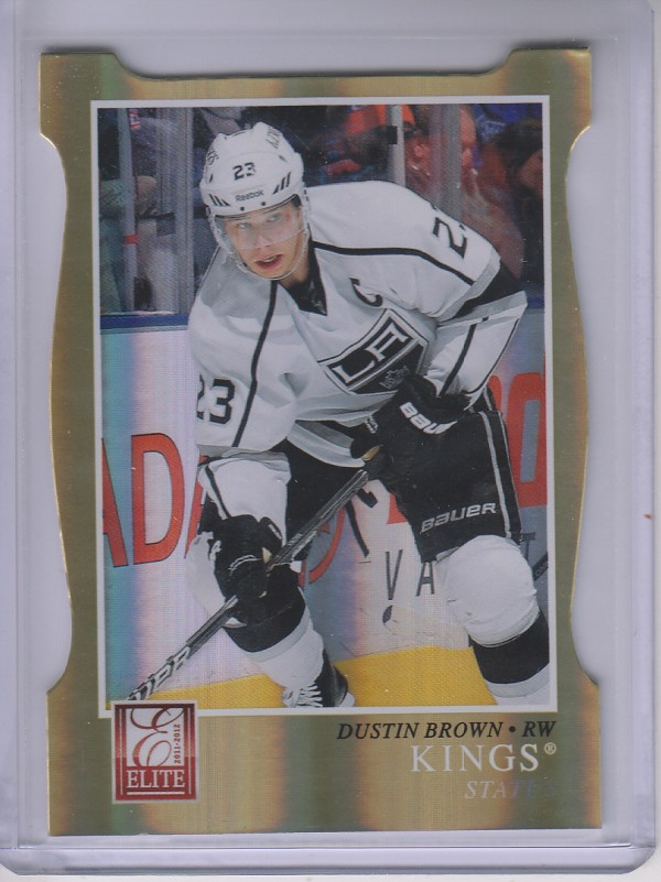 2011-12 Elite Status Gold #131 Dustin Brown