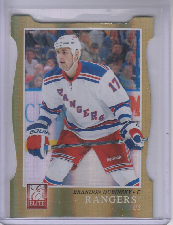 2011-12 Elite Status Gold #169 Brandon Dubinsky