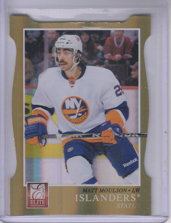2011-12 Elite Status Gold #184 Matt Moulson