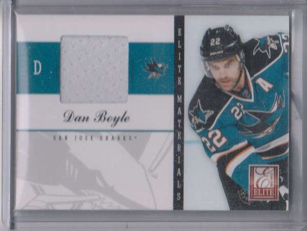 2011-12 Elite Materials #11 Dan Boyle