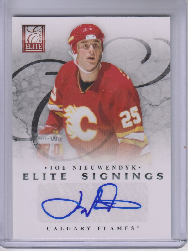 2011-12 Elite Signings #70 Joe Nieuwendyk SP