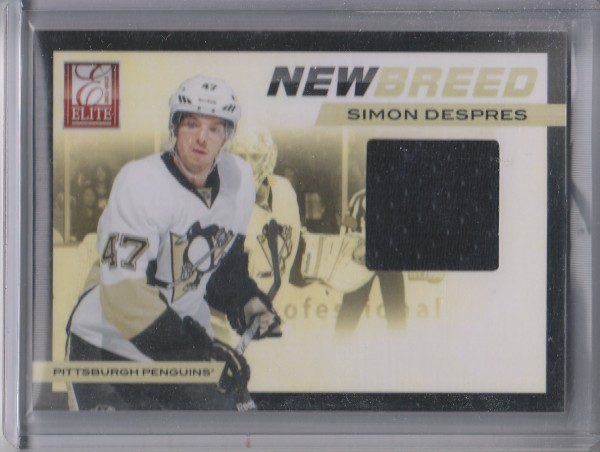 2011-12 Elite New Breed Materials #28 Simon Despres