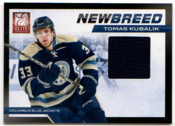 2011-12 Elite New Breed Materials #39 Tomas Kubalik