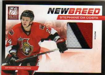 2011-12 Elite New Breed Materials Patches #38 Stephane Da Costa/25