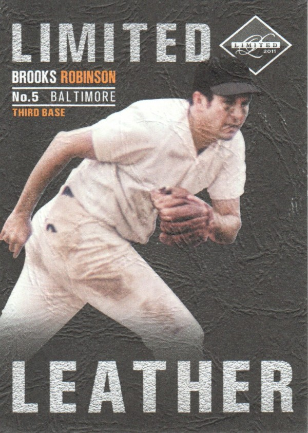 2011 Limited Leather #14 Brooks Robinson