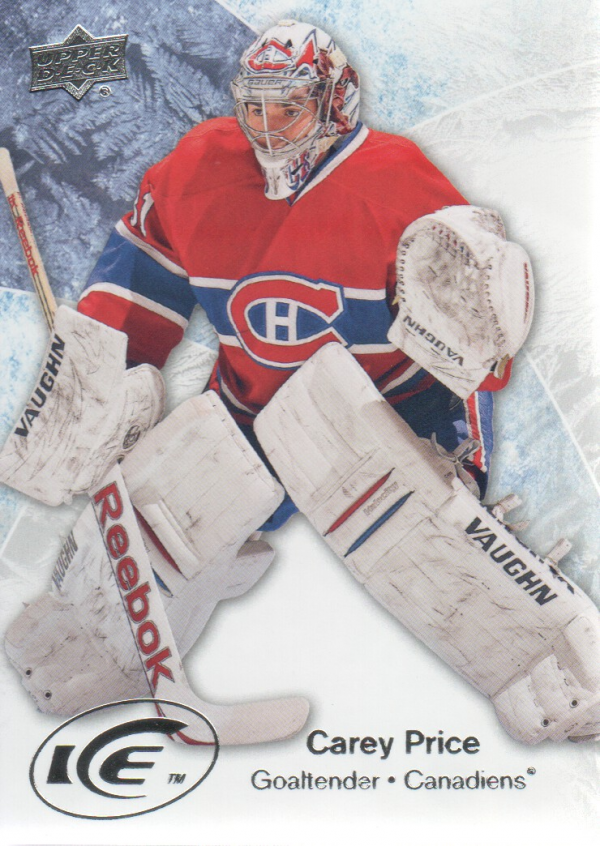2011-12 Upper Deck Ice #39 Carey Price