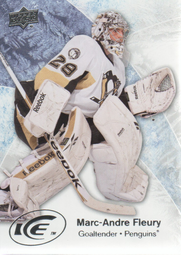 2011-12 Upper Deck Ice #45 Marc-Andre Fleury