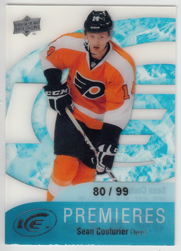 2011-12 Upper Deck Ice #104 Sean Couturier/99 RC