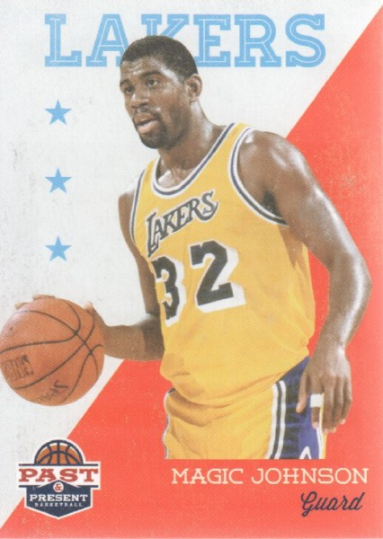2011-12 Panini Past and Present #82 Magic Johnson