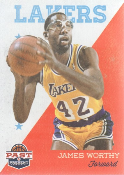 2011-12 Panini Past and Present #100 James Worthy