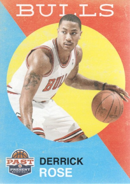 2011-12 Panini Past and Present #162 Derrick Rose