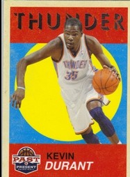2011-12 Panini Past and Present Variations #8 Kevin Durant