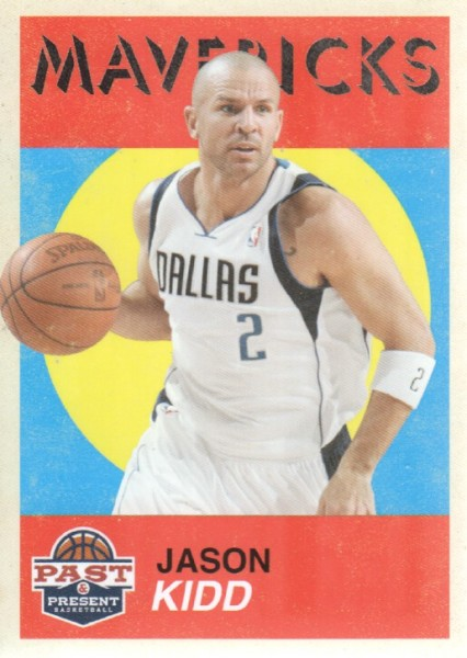 2011-12 Panini Past and Present Variations #15 Jason Kidd