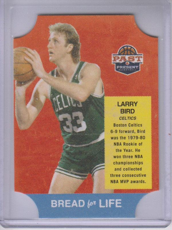 2011-12 Panini Past and Present Bread for Life #2 Larry Bird