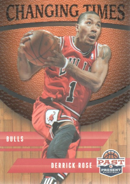 2011-12 Panini Past and Present Changing Times #27 Derrick Rose