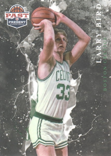 2011-12 Panini Past and Present Raining 3's #15 Larry Bird