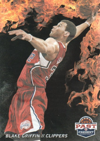 2011-12 Panini Past and Present Fireworks #6 Blake Griffin