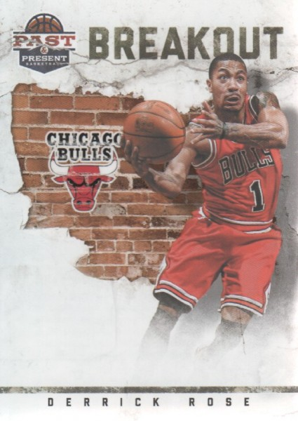 2011-12 Panini Past and Present Breakout #12 Derrick Rose