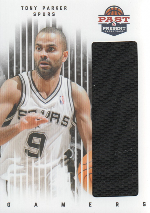 2011-12 Panini Past and Present Gamers Jerseys #91 Tony Parker