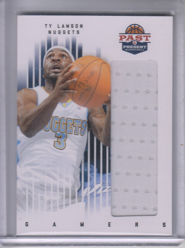 2011-12 Panini Past and Present Gamers Jerseys #93 Ty Lawson