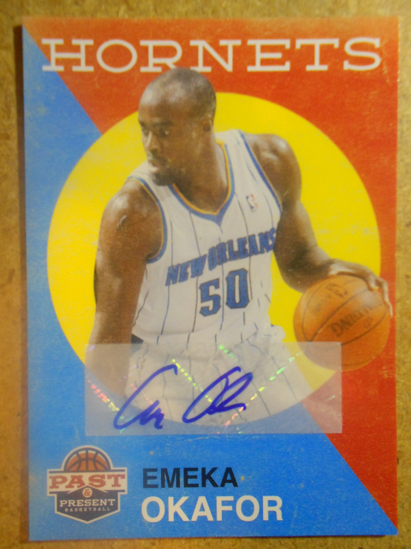 2011-12 Panini Past and Present Autographs #157 Emeka Okafor