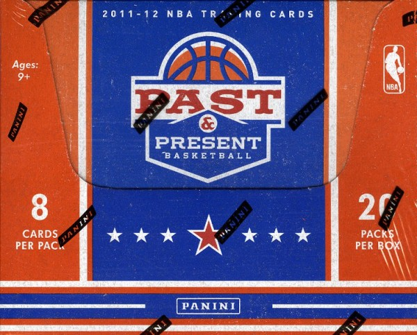 2011-12 Panini Past and Present Basketball Hobby Box
