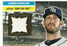 2012 Topps Archives Relics #JS James Shields