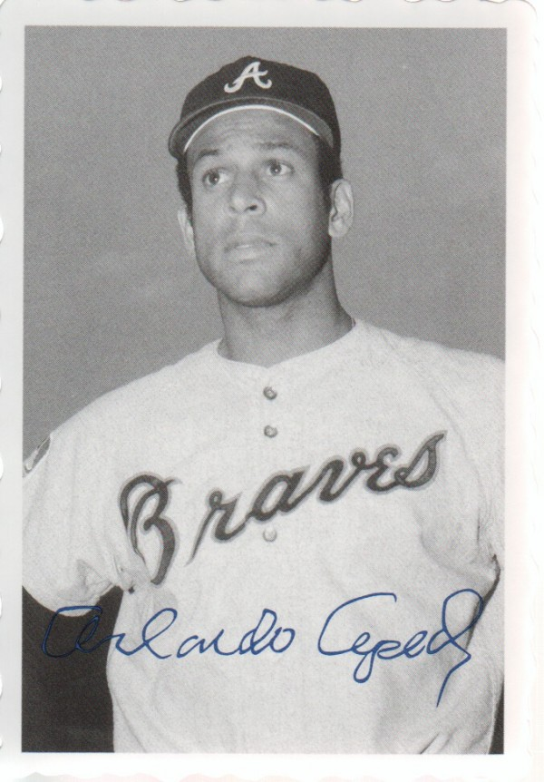 2012 Topps Archives Deckle Edge #10 Orlando Cepeda