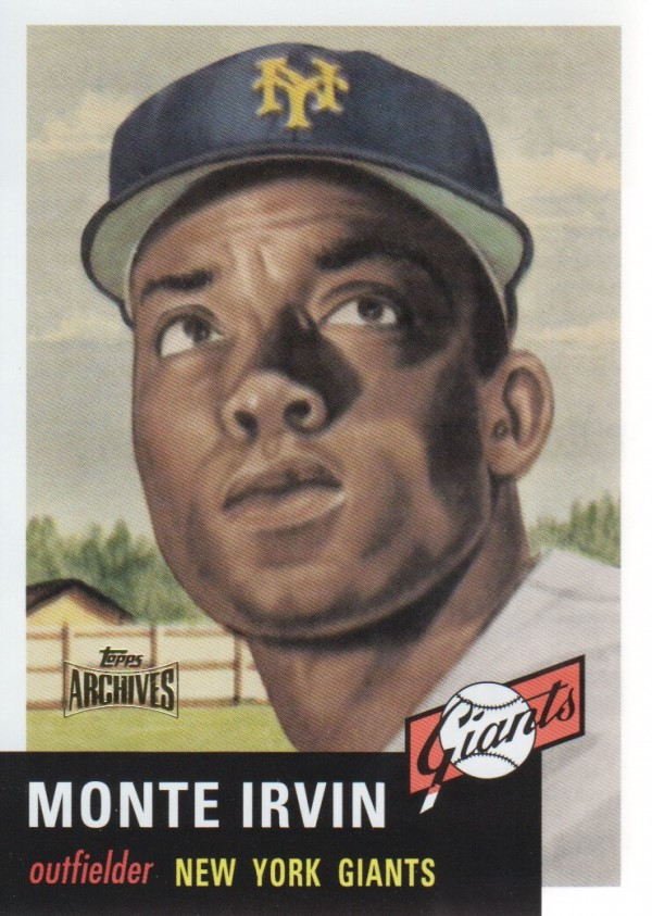 2012 Topps Archives Reprints #62 Monte Irvin