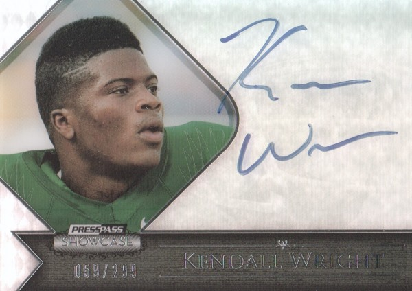 2012 Press Pass Showcase #SCKW Kendall Wright/273*