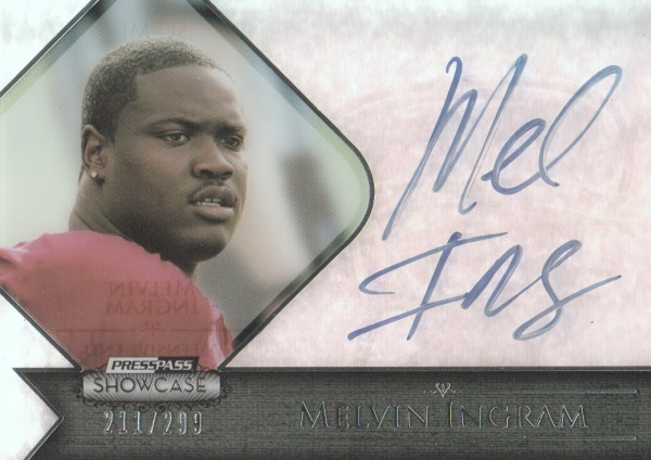 2012 Press Pass Showcase #SCMI Melvin Ingram/299