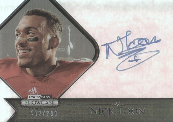 2012 Press Pass Showcase #SCNT Nick Toon/279*