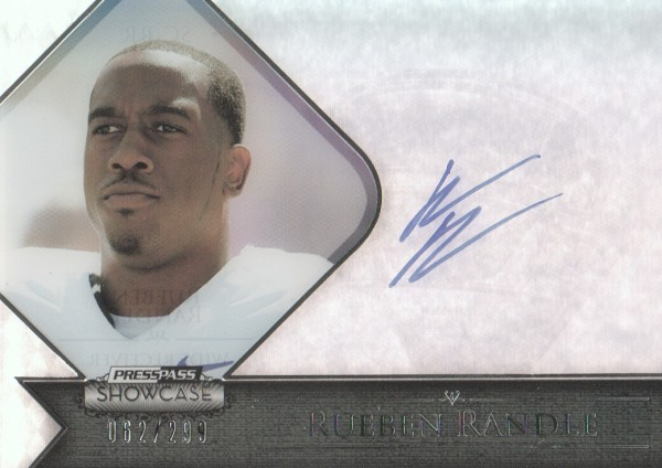 2012 Press Pass Showcase #SCRR Rueben Randle/299