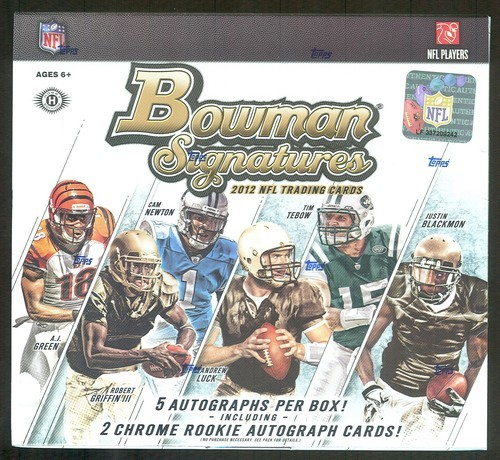 2012 Bowman Football Hobby Box