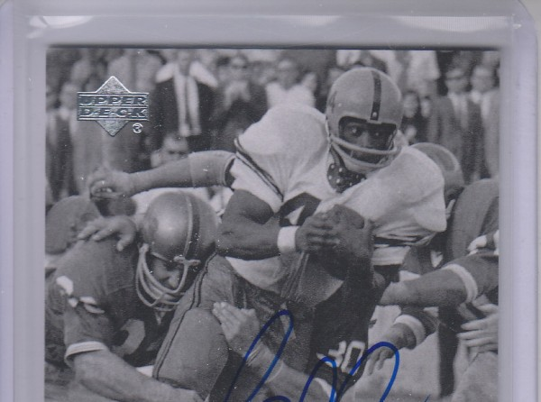 2011 Upper Deck College Legends Autographs #34 Floyd Little
