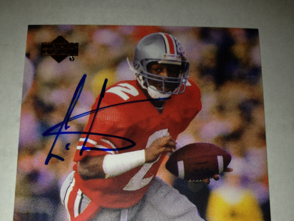 2011 Upper Deck College Legends Autographs #53 Cris Carter SP