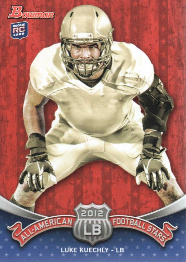 2012 Bowman All-Americans #BAALK Luke Kuechly