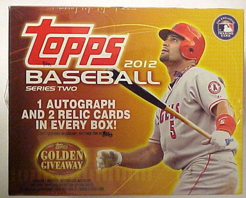 2012 Topps Baseball Jumbo Box Series 2