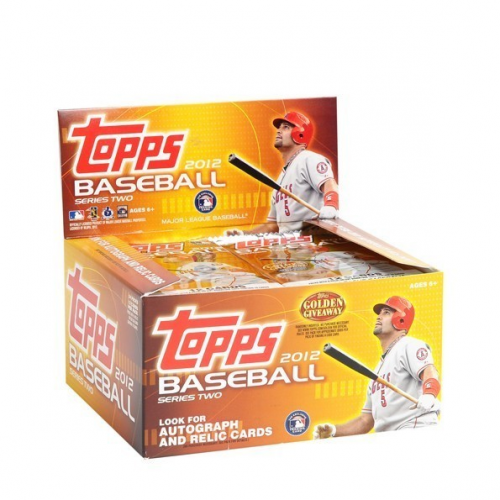 2012 Topps Baseball Retail Box Series 2