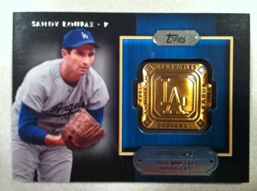 2012 Topps Team Rings #SK Sandy Koufax