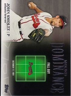 2012 Topps Mound Dominance #MD14 John Smoltz